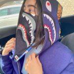 BAPE ABC Shark Bandana Blue 2