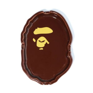 BAPE Ape Head Ashtray Brown 1