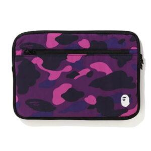 BAPE Color Camo PC Case 13in Purple 1