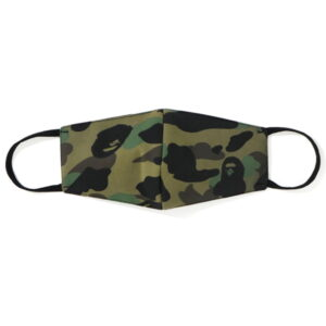 BAPE Full 1st Camo Mask Green 1
