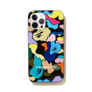 BAPE Multi Camo iPhone 12 Pro Max Case Black 1