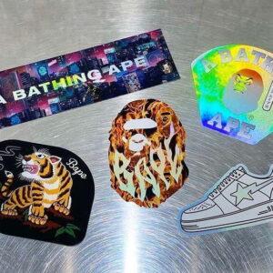 BAPE Neon Tokyo Stickers Multi 2