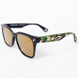 BAPE PARKAS0 Sunglasses Black Camo 1