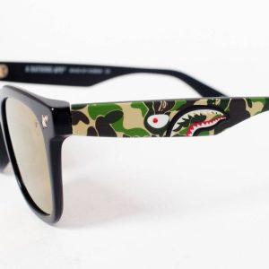 BAPE PARKAS0 Sunglasses Black Camo 2