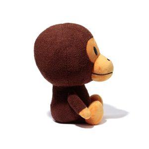 BAPE Plush Doll 50cm Milo Brown 2