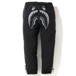 BAPE Reflective Shark 2Layer Pants Black 1
