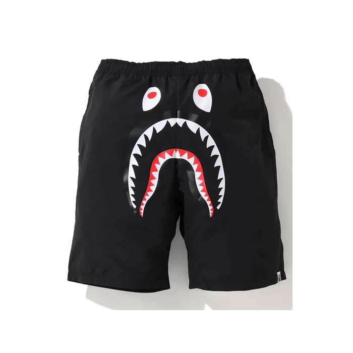 BAPE Shark Beach Shorts SS20 Black 1