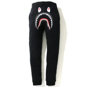 BAPE Shark Slim Sweatpants Black 1