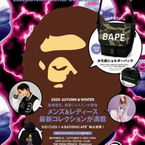 BAPE e MOOK 2020 Autumn Winter Collection Book Multi11