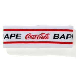 BAPE x Coca Cola Headband White 1