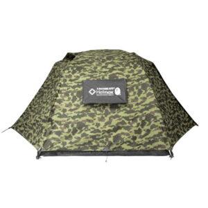 BAPE x Helinox Alpine Dome Green Camo 1