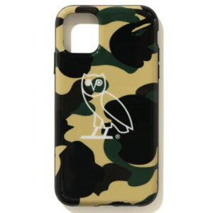 BAPE x OVO 1st Camo Iphone 11 Pro case Yellow 1