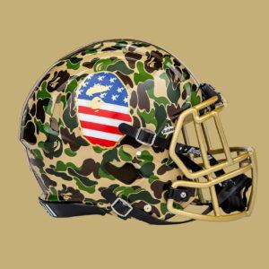 BAPE x adidas Riddell Helmet Green 1