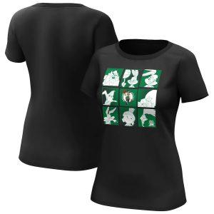 Boston Celtics Fanatics Branded Space Jam Tune Squad T Shirt Womens 1