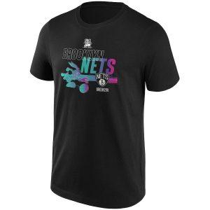 Brooklyn Nets Fanatics Branded Space Jam Baller Bugs T Shirt Mens 2
