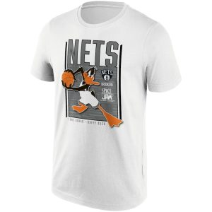 Brooklyn Nets Fanatics Branded Space Jam Tune Squad Daffy Duck T Shirt Mens 2
