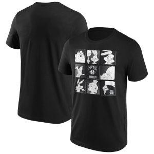Brooklyn Nets Fanatics Branded Space Jam Tune Squad T Shirt Mens 1
