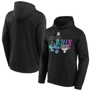 Chicago Bulls Fanatics Branded Space Jam Baller Bugs Hoodie Mens11