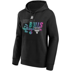 Chicago Bulls Fanatics Branded Space Jam Baller Bugs Hoodie Womens 2