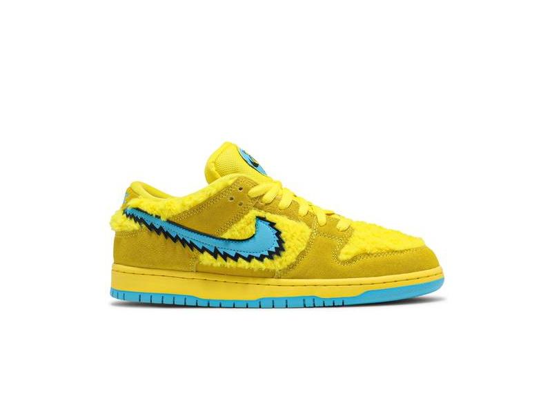Grateful Dead x Nike Dunk Low SB Yellow Bear