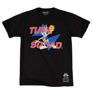 Mitchell Ness Bugs Bunny Tune Squad Space Jam T Shirt 1