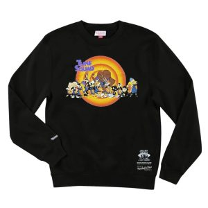 Mitchell Ness Tune Squad Line Up Space Jam Crew Jumper 1