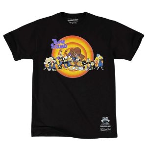 Mitchell Ness Tune Squad Line Up Space Jam T Shirt 1