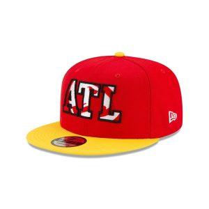 New Era Atlanta Hawks 9FIFTY 2021 Draft Edition NBA Snapback Hat 1