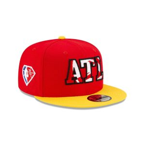 New Era Atlanta Hawks 9FIFTY 2021 Draft Edition NBA Snapback Hat 2