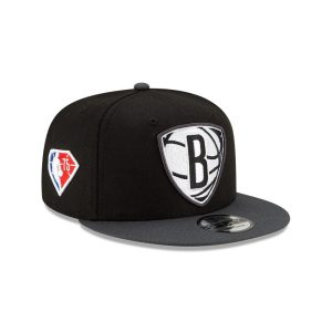 New Era Brooklyn Nets 9FIFTY 2021 Draft NBA Edition Snapback Hat 2