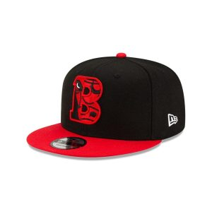 New Era Chicago Bulls 9FIFTY 2021 Draft Edition NBA Snapback Hat 1