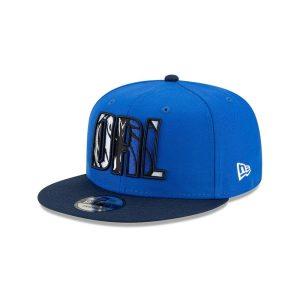 New Era Dallas Mavericks 9FIFTY 2021 Draft Edition NBA Snapback Hat 1
