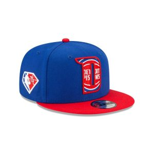 New Era Detroit Pistons 9FIFTY 2021 Draft Edition NBA Snapback Hat 2