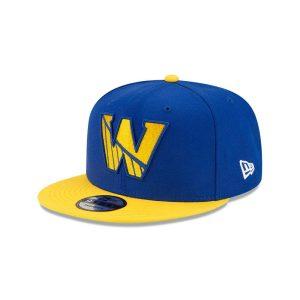 New Era Golden State Warriors 9FIFTY 2021 Draft Edition NBA Snapback Hat 1