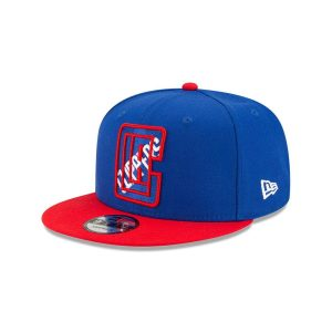 New Era Los Angeles Clippers 9FIFTY 2021 Draft Edition NBA Snapback Hat 1