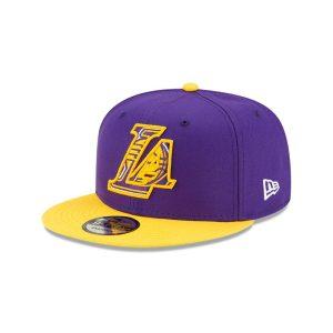 New Era Los Angeles Lakers 9FIFTY 2021 Draft Edition NBA Snapback Hat 1