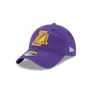 New Era Los Angeles Lakers 9TWENTY 2021 Draft Edition NBA Strapback Hat 1
