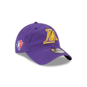 New Era Los Angeles Lakers 9TWENTY 2021 Draft Edition NBA Strapback Hat 2