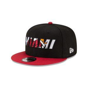 New Era Miami Heat 9FIFTY 2021 Draft Edition NBA Snapback Hat 1