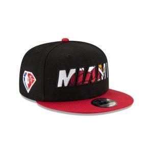 New Era Miami Heat 9FIFTY 2021 Draft Edition NBA Snapback Hat 2