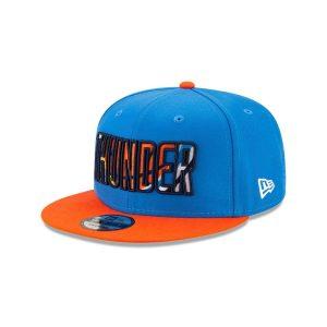 New Era Oklahoma City Thunder 9FIFTY 2021 Draft Edition NBA Snapback Hat 1