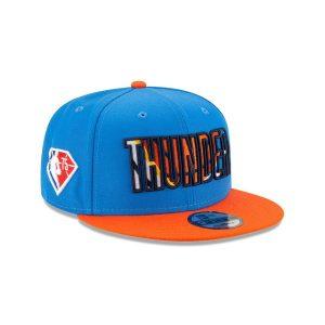 New Era Oklahoma City Thunder 9FIFTY 2021 Draft Edition NBA Snapback Hat 2
