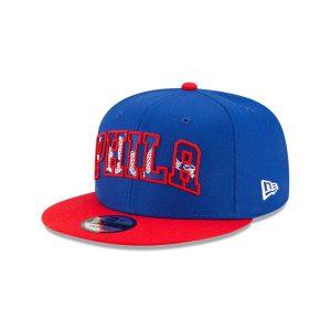 New Era Philadelphia 76ers 9FIFTY 2021 Draft Edition NBA Snapback Hat 1