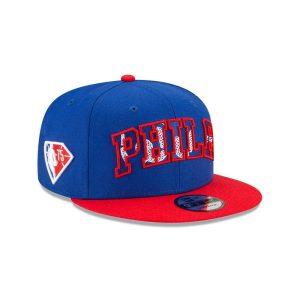 New Era Philadelphia 76ers 9FIFTY 2021 Draft Edition NBA Snapback Hat 2