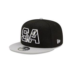 New Era San Antonio Spurs 9FIFTY 2021 Draft Edition NBA Snapback Hat 1