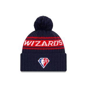 New Era Washington Wizards 2021 Draft Edition Pom Knit NBA Beanie 2