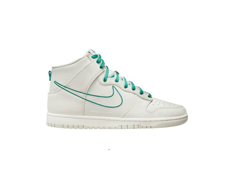 Nike Dunk High SE First Use Pack Light Bone Green Noise