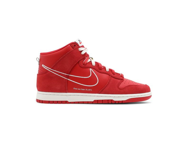 Nike Dunk High SE First Use Pack University Red 1