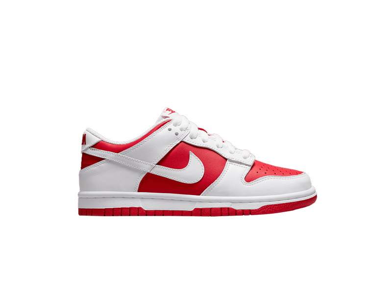 Nike Dunk Low GS White University Red