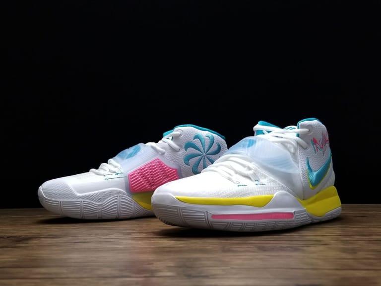 Nike Kyrie 6 Neon Graffiti 1